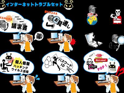 サイバー教育事業のイメージ